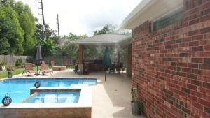 houston texas backyard mosquito misting system pool