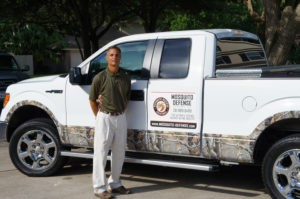 houston texas backyard mosquito expert art detranaltes