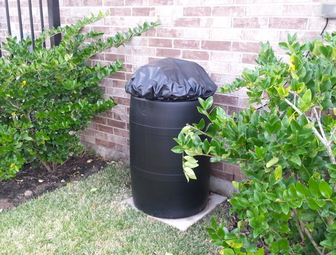 houston texas backyard mosquito misting system reservoir